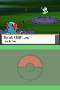 how to get celebi in soul silver