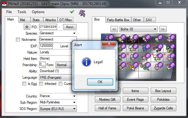 GF Meloetta (PKHeX 7 Legal Check Issue) - PKHeX - Project Pokemon ...