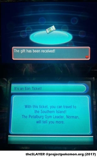 how to use eon ticket oras
