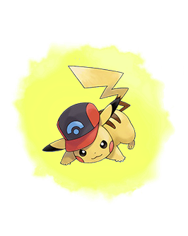 20th Movie Ash's Pikachu (Sinnoh Cap)