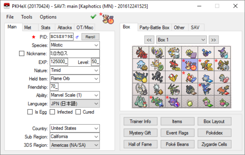 Stat modding sun and moon - Save Editing Help - Project Pokemon Forums