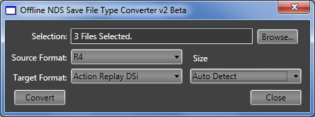 Offline Save File Type Converter - Save Editing - Project