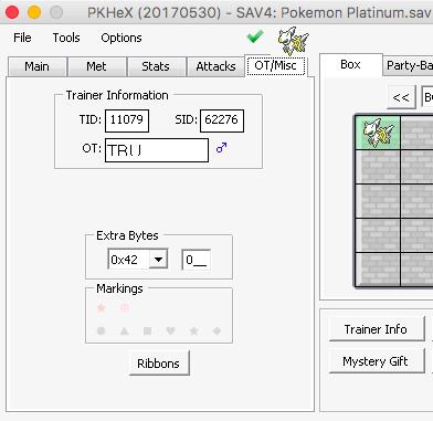 PKHeX 3288 Bugs - PKHeX - Project Pokemon Forums