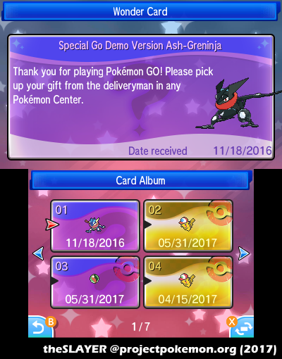 WC7: Fake (and unreleased) Shiny Greninja + Pokemon Go
