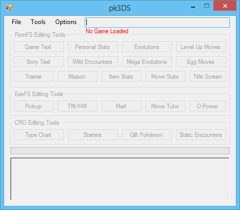PK3DS - ROM Editing - Project Pokemon Forums