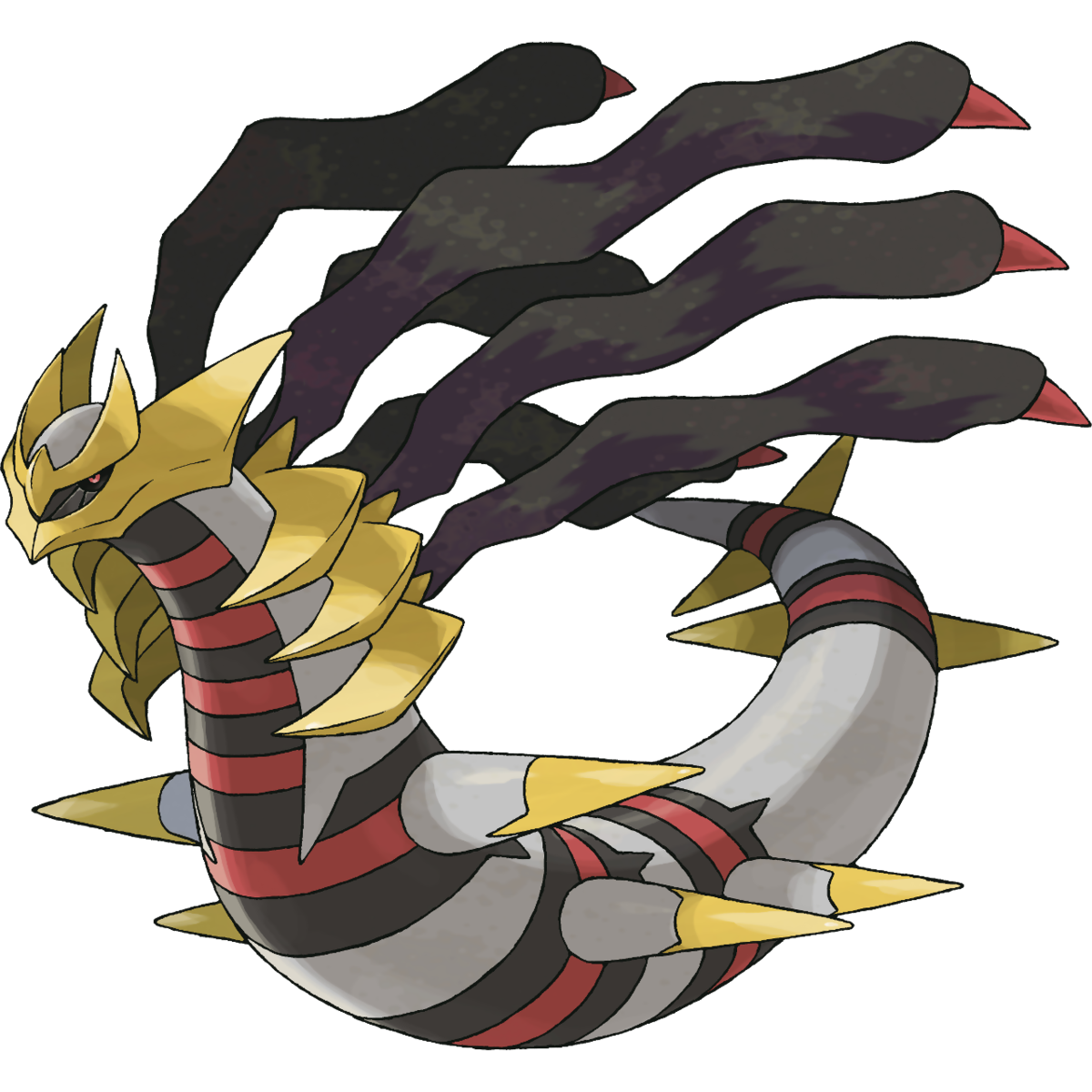 Giratina (Origin) Sugimori Artwork