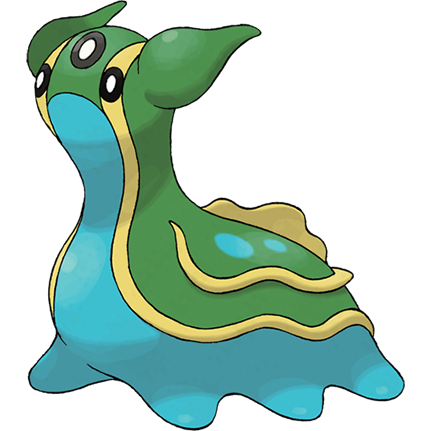 Gastrodon (East) Sugimori Artwork