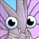 Venomoth Portrait