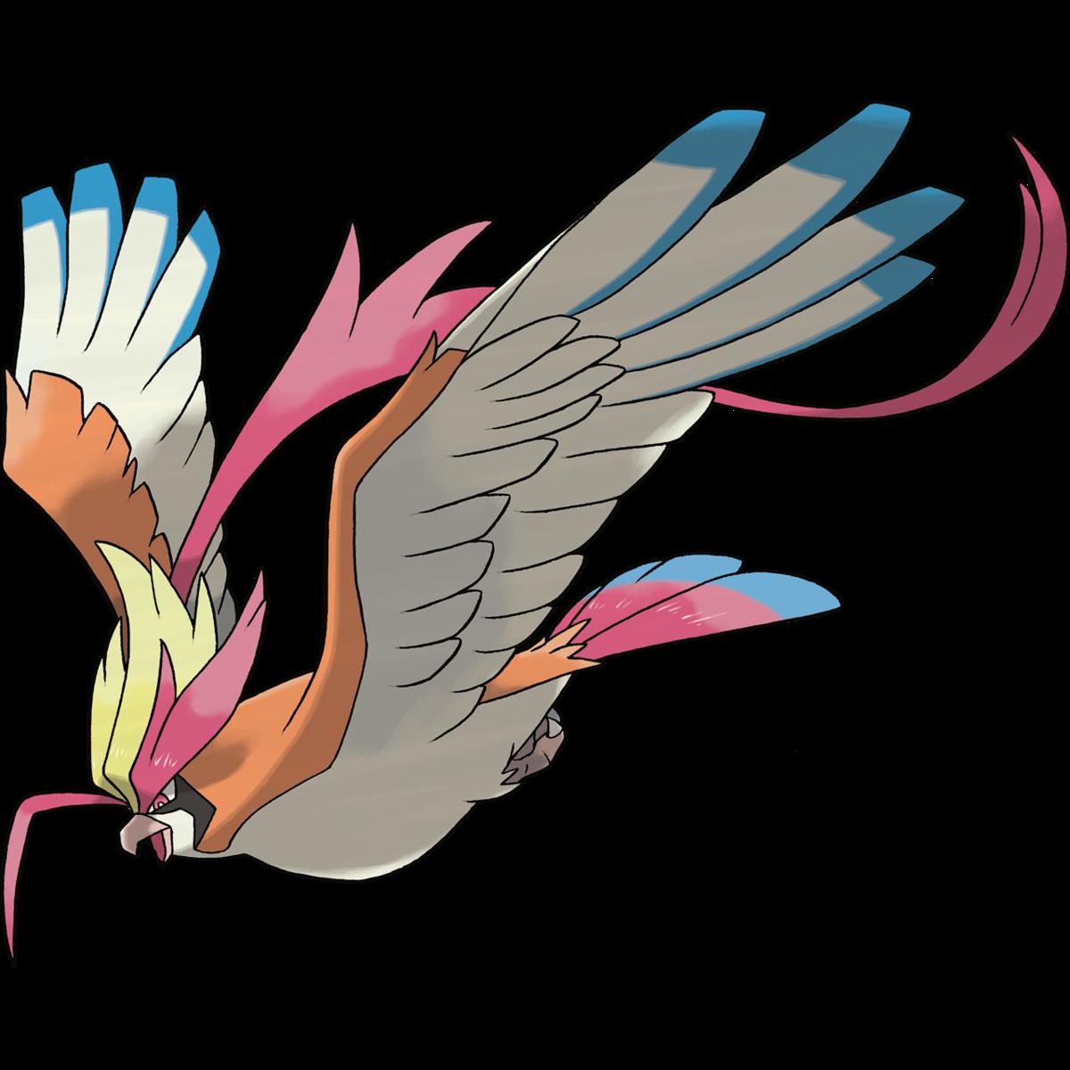 Pidgeot (Mega) Sugimori Artwork