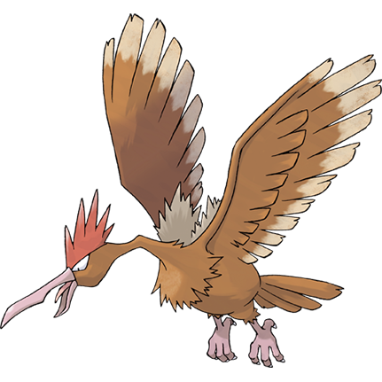 Fearow Sugimori Artwork
