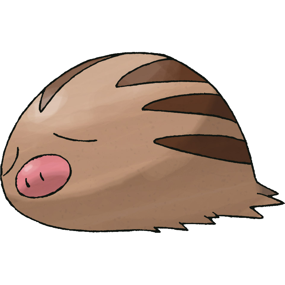 Swinub Sugimori Artwork