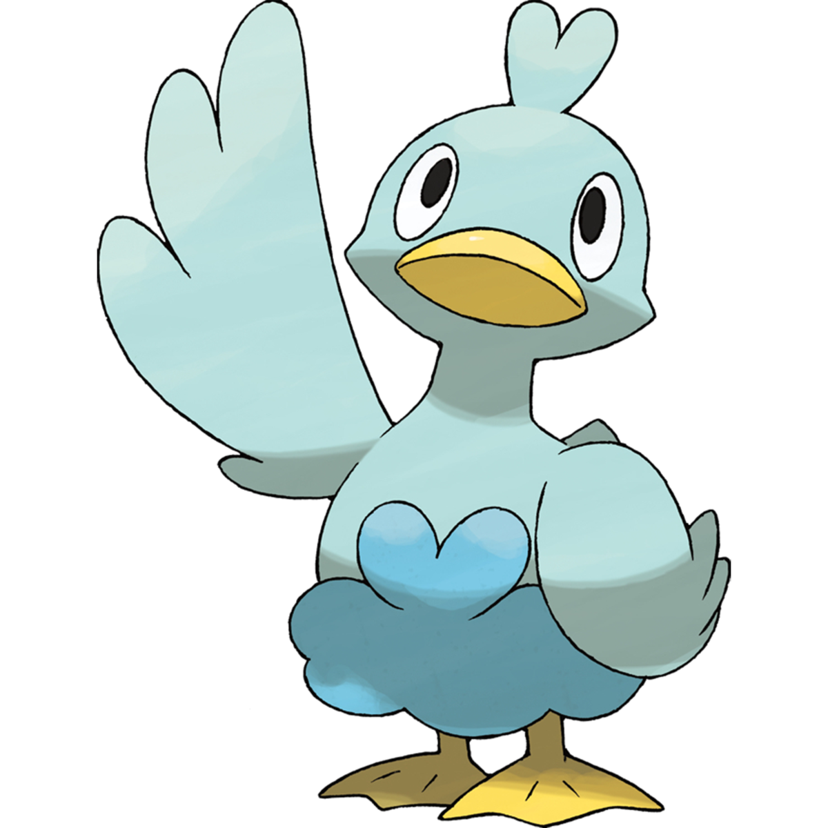 Ducklett Sugimori Artwork