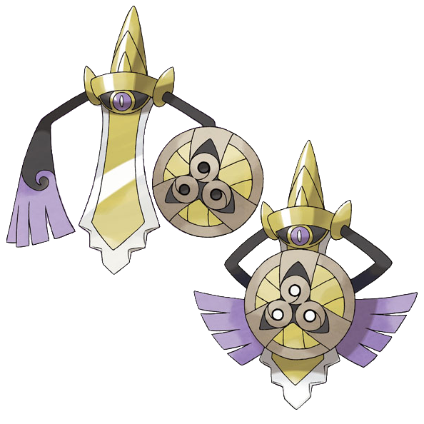 Aegislash Sugimori Artwork