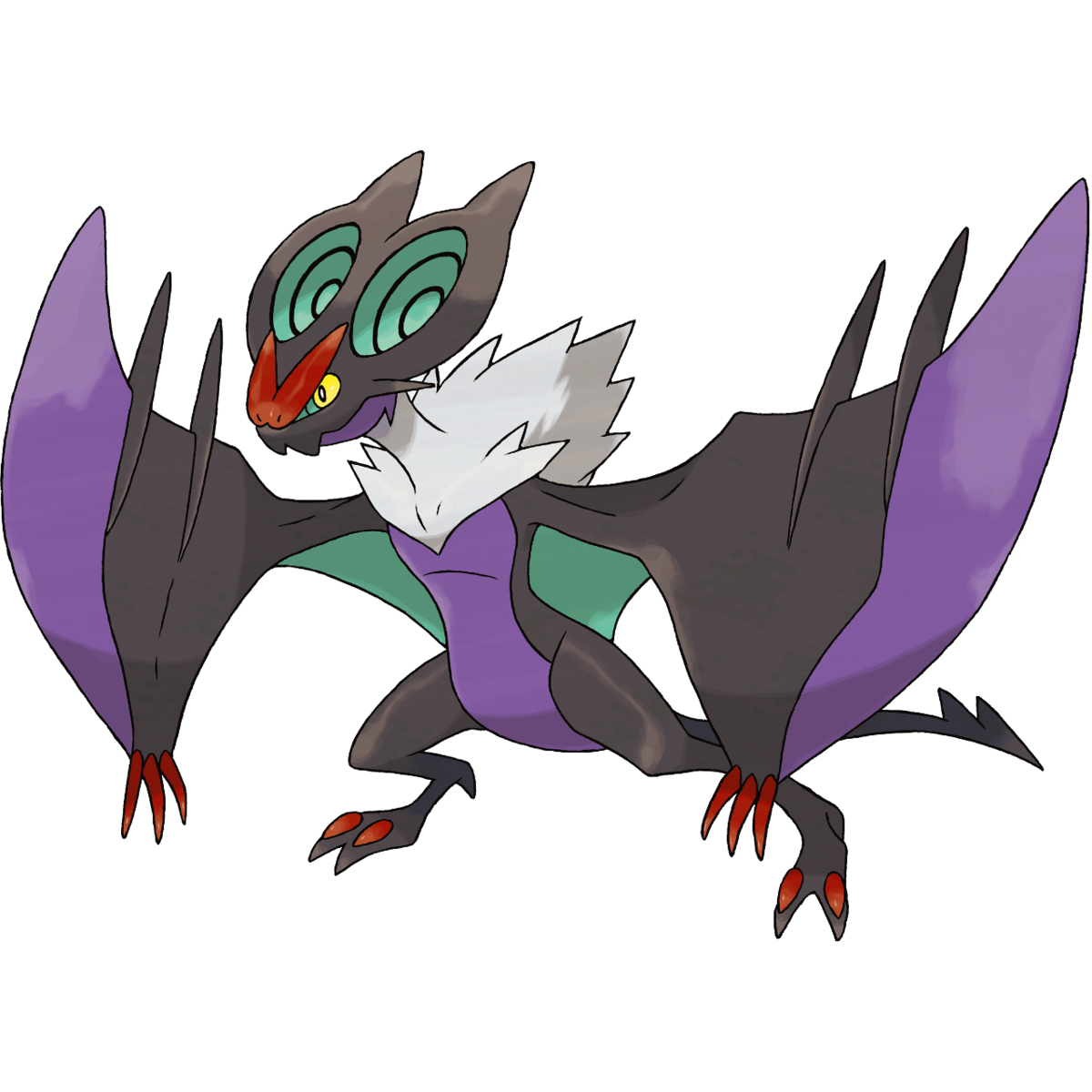 Noivern Sugimori Artwork