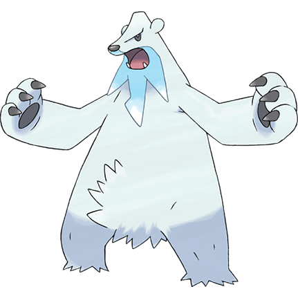 Beartic Sugimori Artwork