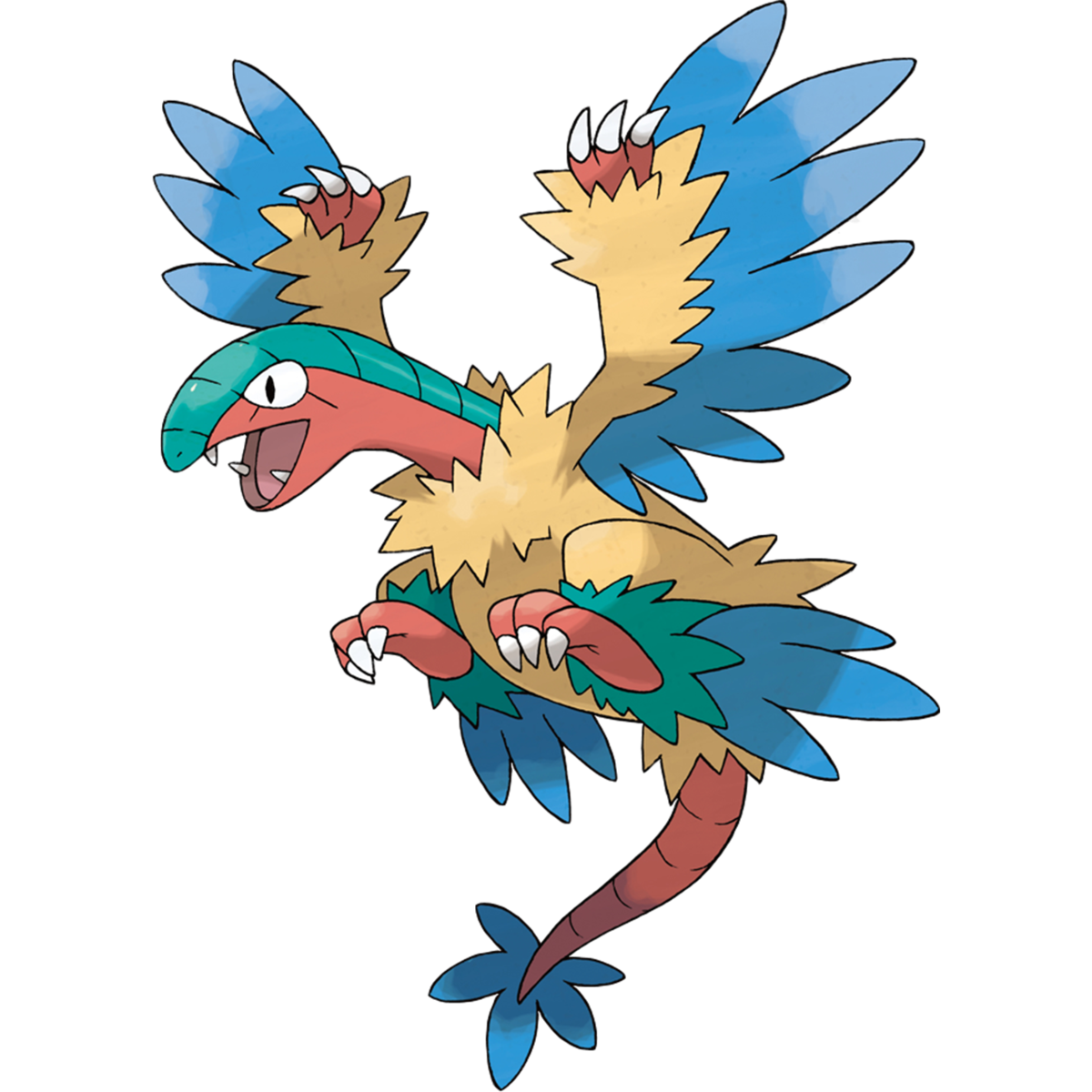 Archeops Sugimori Artwork