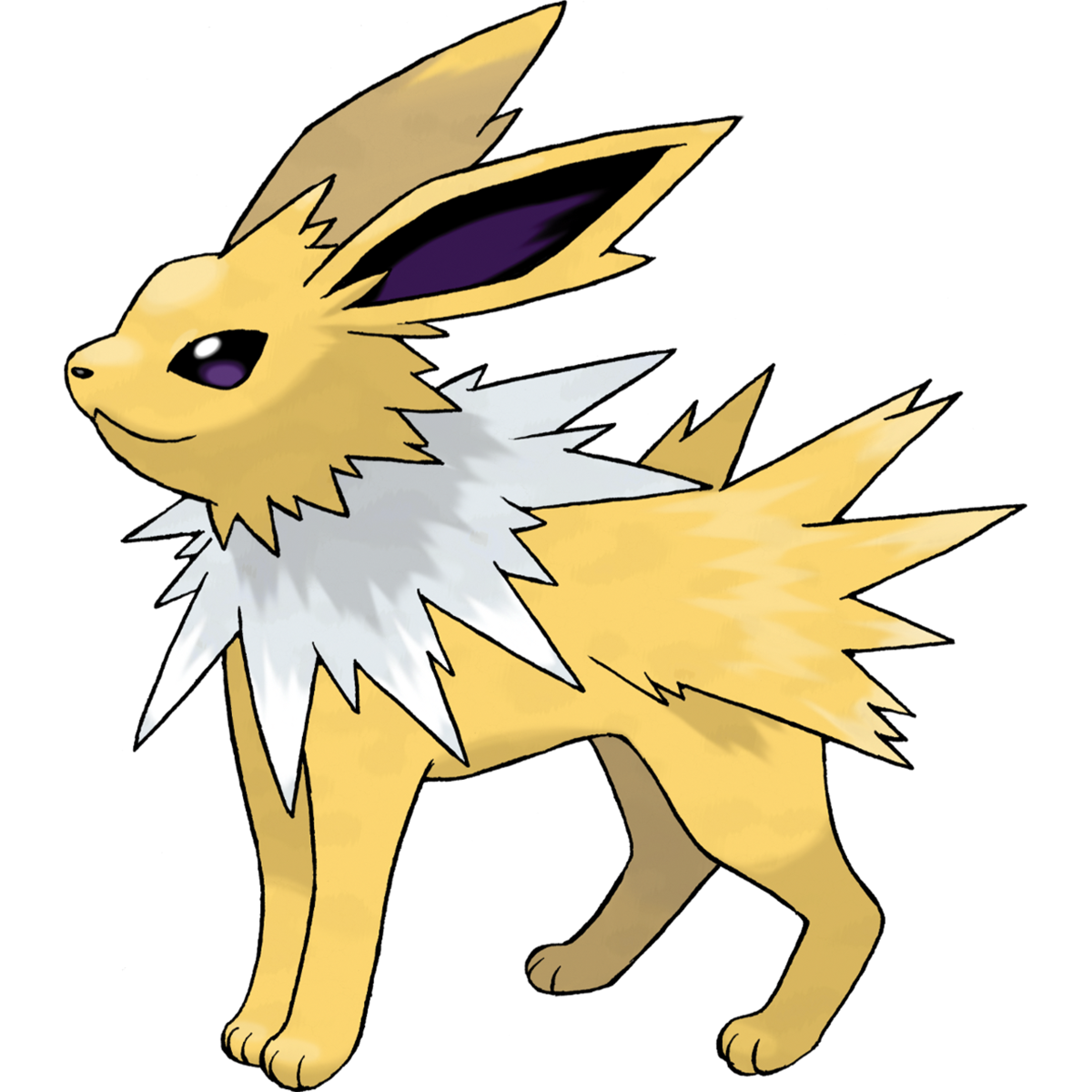 Jolteon Sugimori Artwork