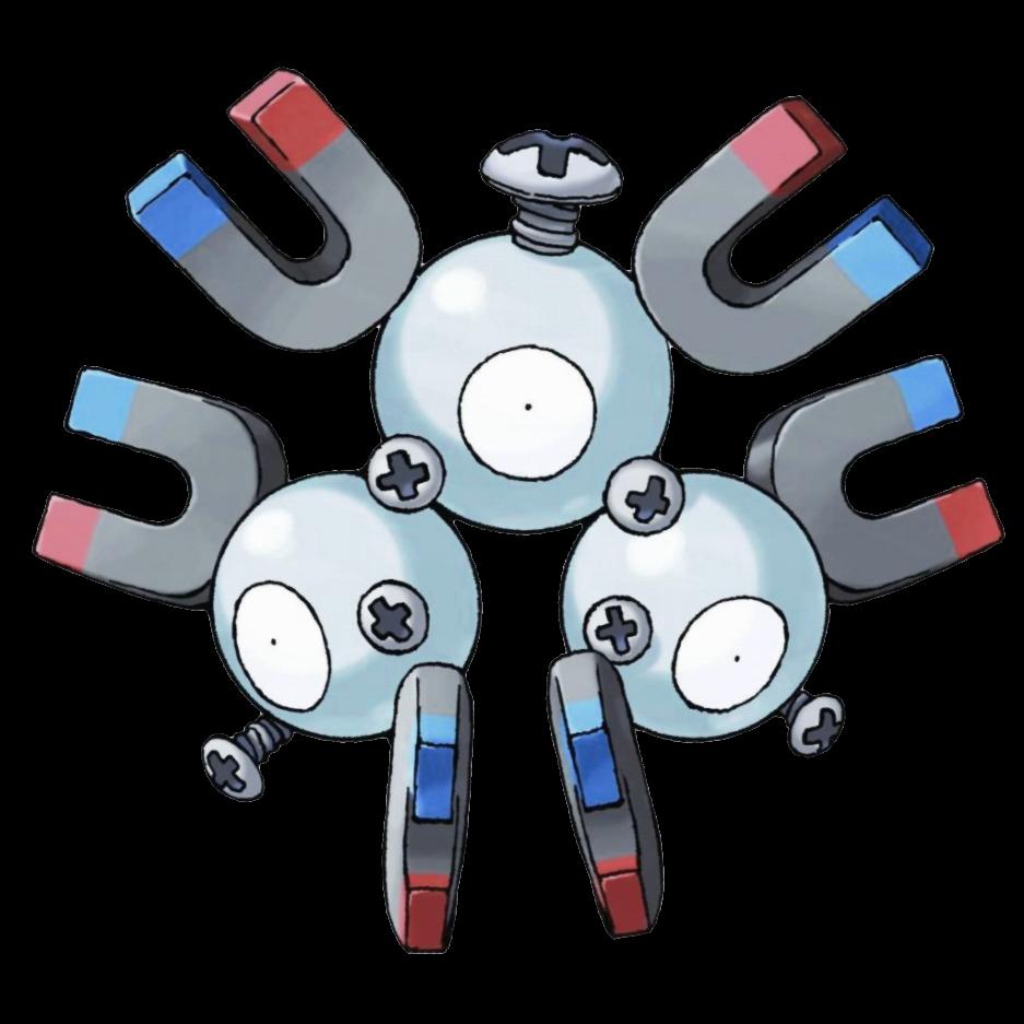 Magneton Sugimori Artwork