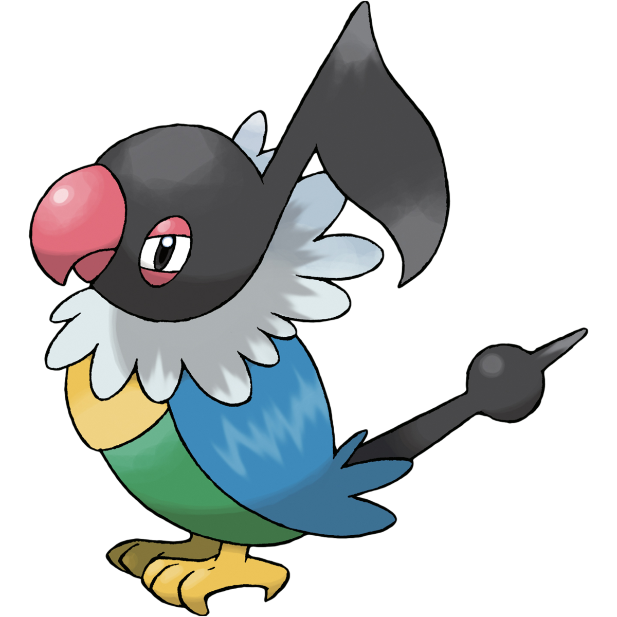 Chatot Sugimori Artwork