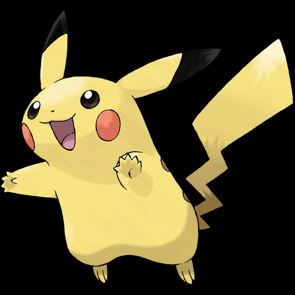 Pikachu Sugimori Artwork