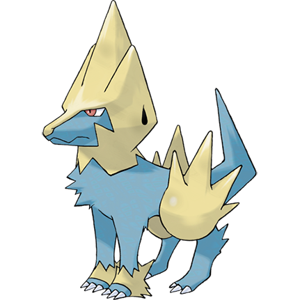 Manectric Sugimori Artwork