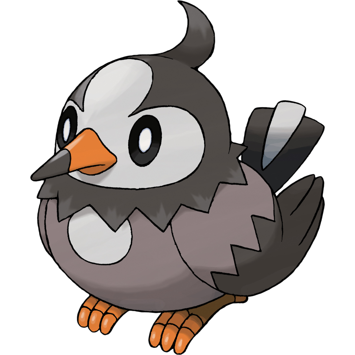 Starly Sugimori Artwork