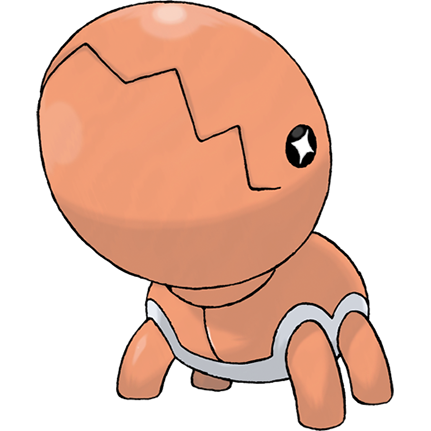 Trapinch Sugimori Artwork