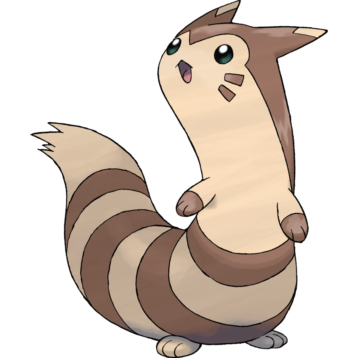 Furret Sugimori Artwork