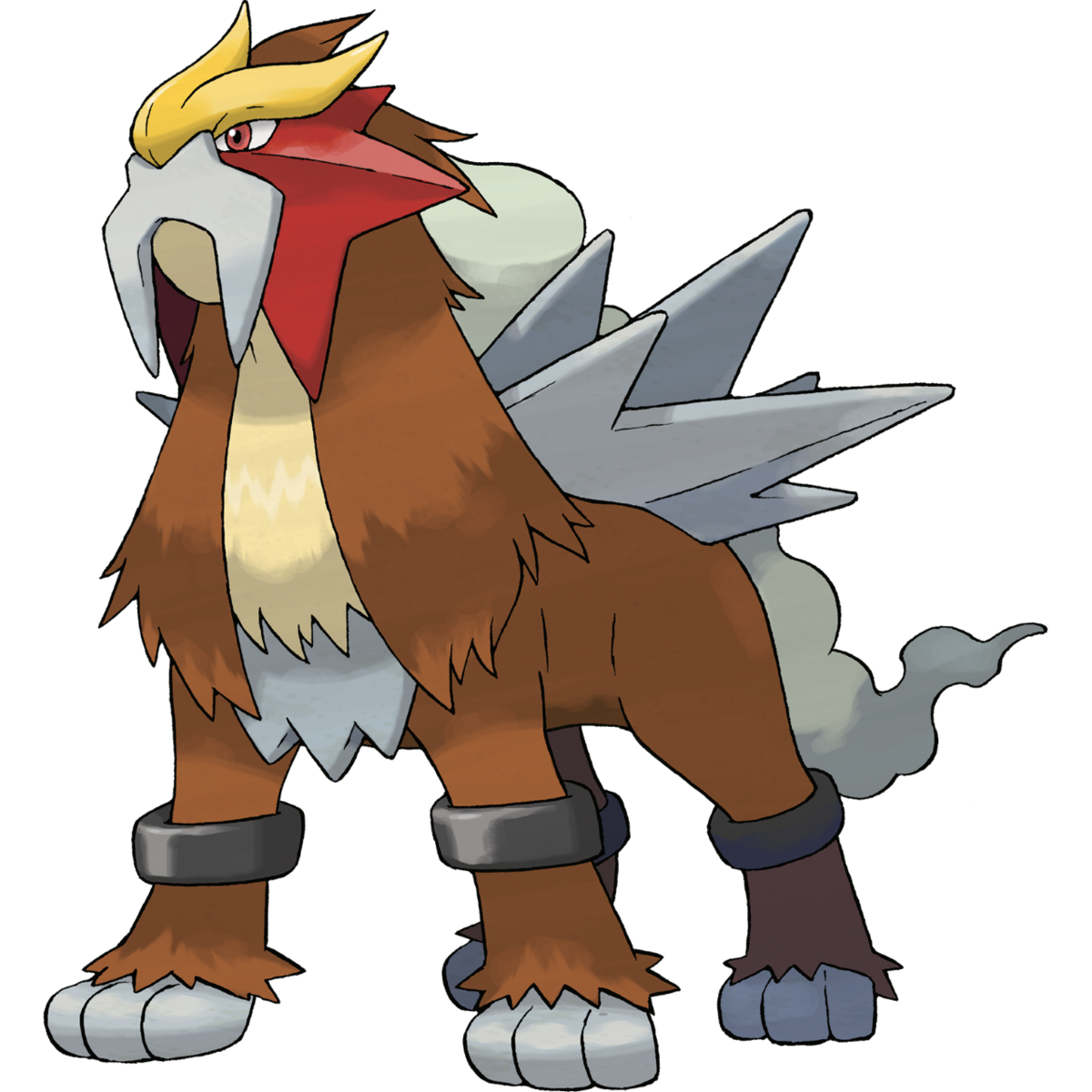 Entei Sugimori Artwork
