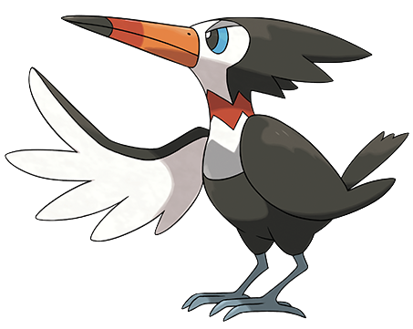 Trumbeak Sugimori Artwork