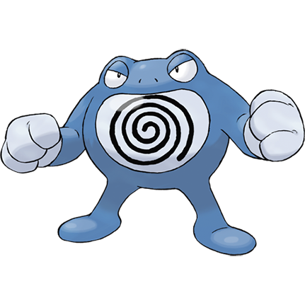 Poliwrath Sugimori Artwork