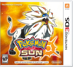 Pokémon Sun Box Art