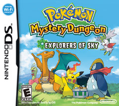 Pokémon Mystery Dungeon: Explorers of Sky Box Art