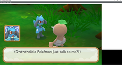 D-d-d-did a Pokémon just talk to me?!