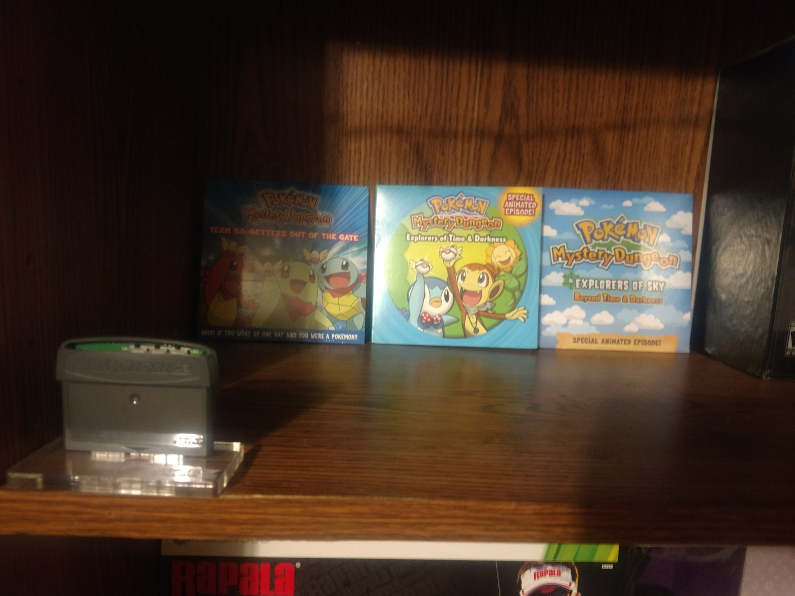 Pokemon Mystery Dungeon DVD's - 10th Anniversary distro cart.