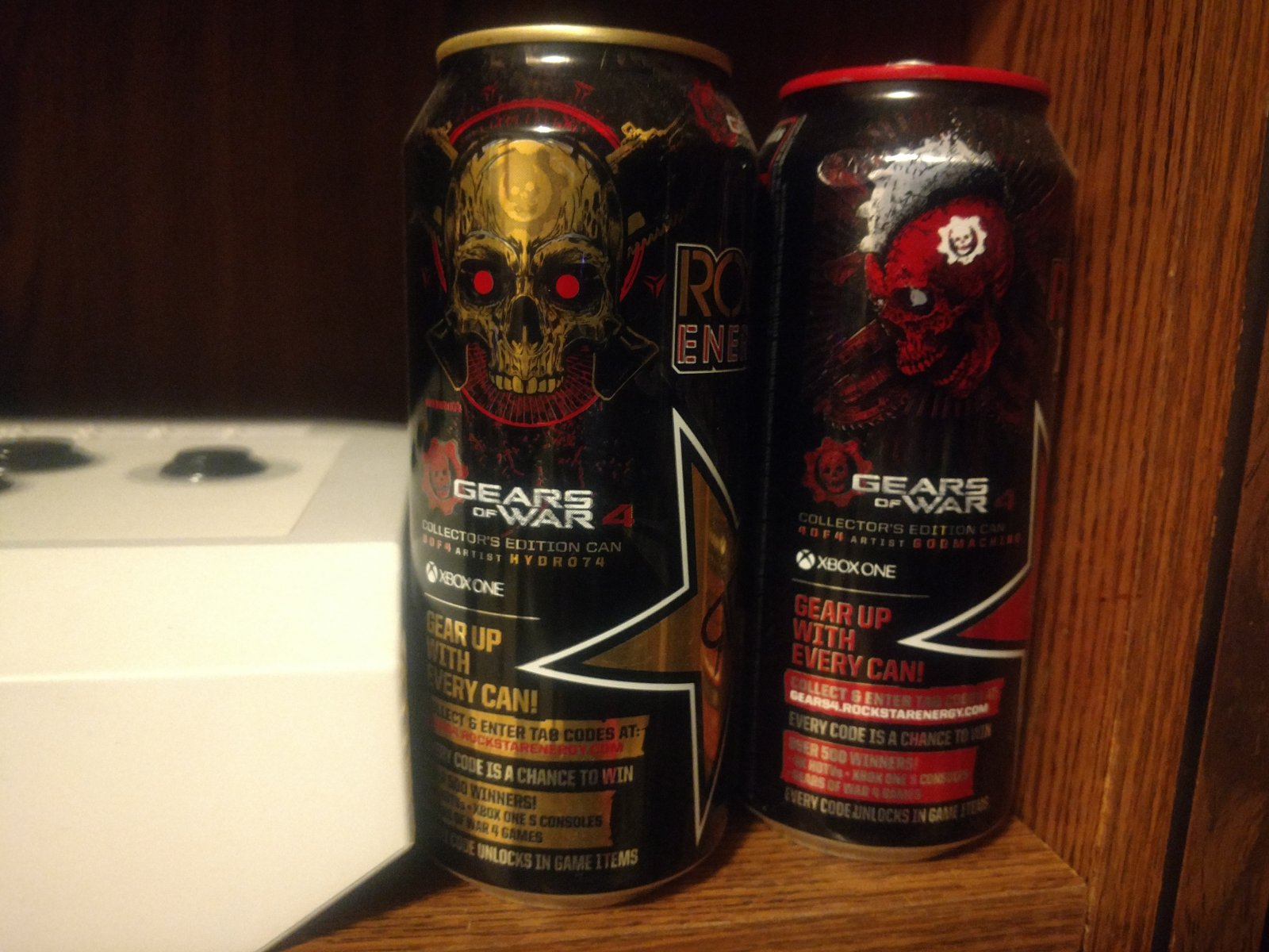 Gears of War 4 - Rockstar Energy Promotional cans 3 and 4 of 4