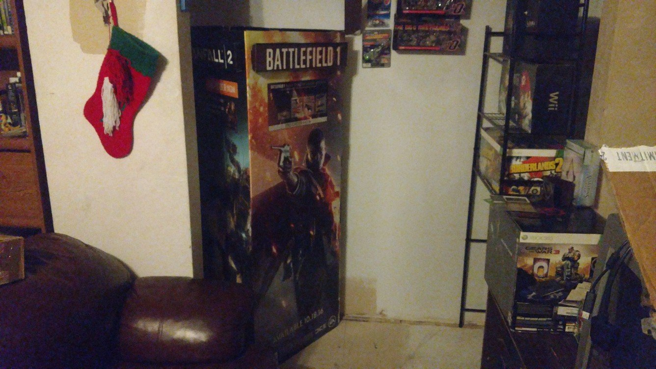 Standee - Battlefield 1 side