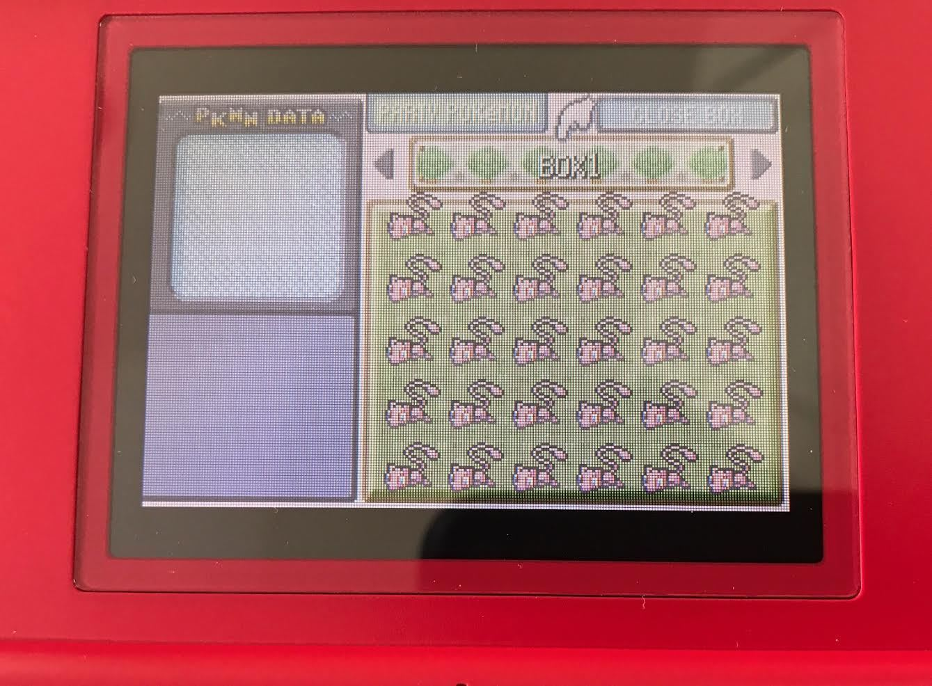 Community Outreach - Donations for Very Rare MYSTRY Mew Cartridge