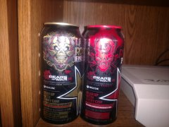 Gears of War 4 - Rockstar Energy Promotional cans 1 and 2 of 4