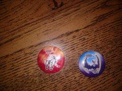 Sun - Moon  Pre-order pins.