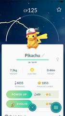 Pikachu (Ash Original Cap)
