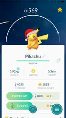 Pikachu (Santa Hat)