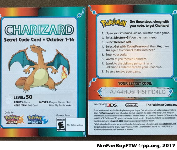 Project Pokemon Mystery Gift Codes - Classycloud co