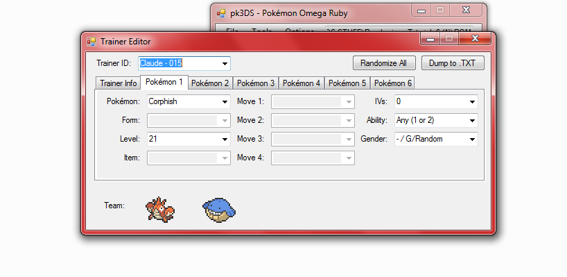 tool] pk3DS: 3DS ROM Editor & Randomizer - Page 43 - ROM - 3DS