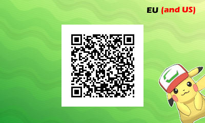 USUM I Choose You Pikachu - EU US 3DS
