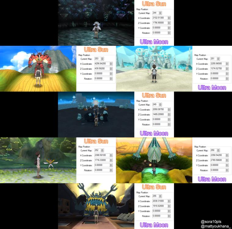 Pokemon Sun&Moon: Map Dex - Contribution & Support Thread