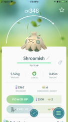Shroomish
