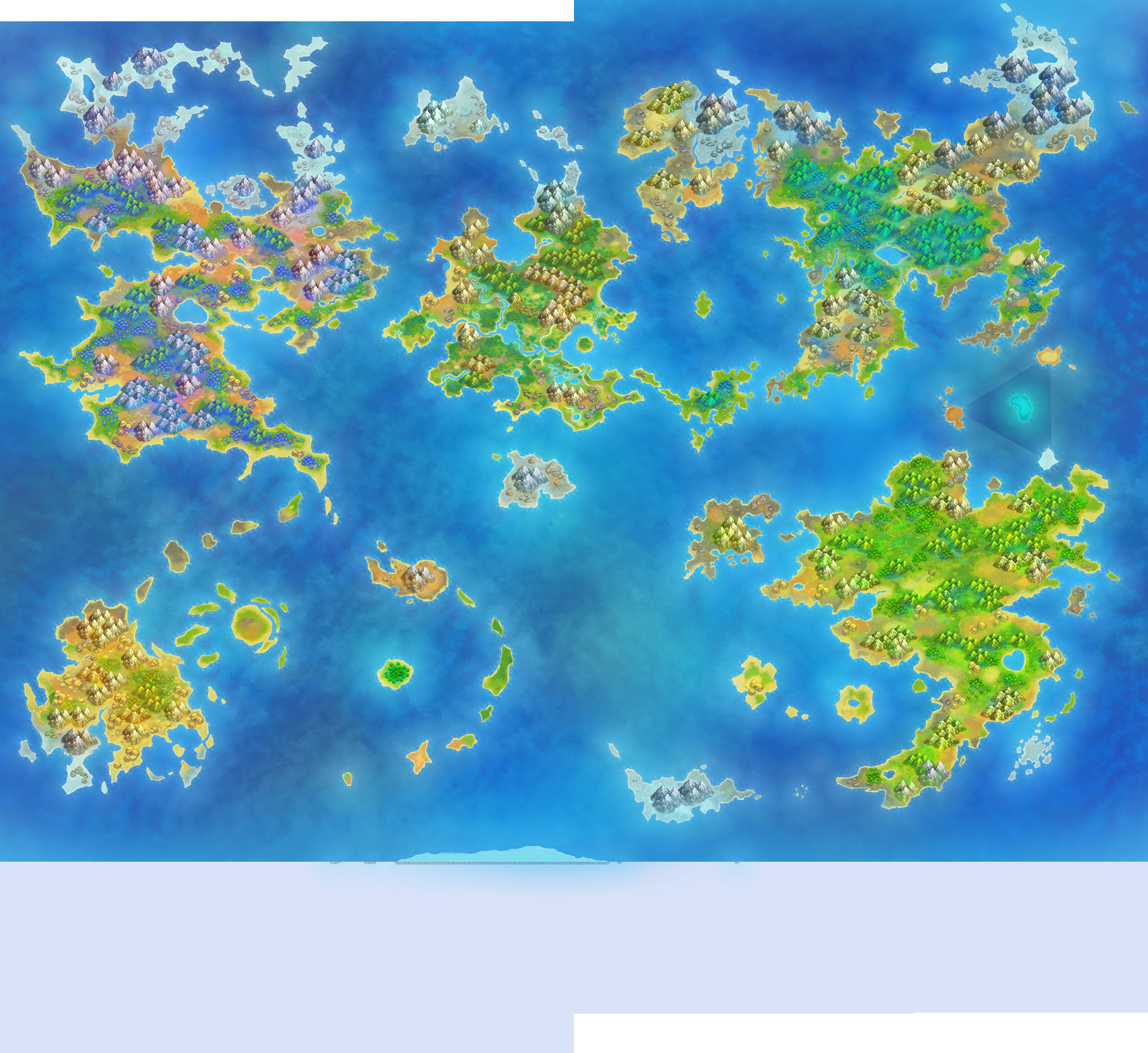 World Map - Pokémon Super Mystery Dungeon - Project Pokemon ...