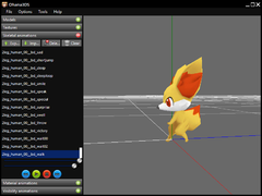 Fennekin walking like a human