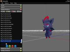 Zorua walking like a riolu